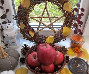 altar, pagan, and spell image