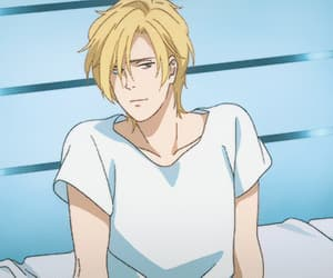 anime, banana fish, and ash lynx image