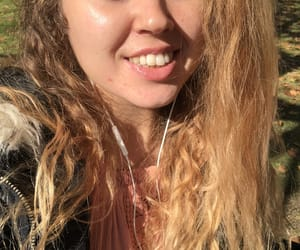 blonde, happiness, and positive image