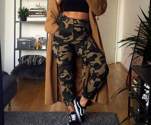fashion, style, and camo image