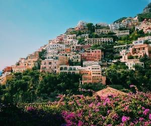 italia, costa amalfitana, and positano image