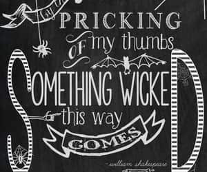 Halloween, quotes, and wicked image