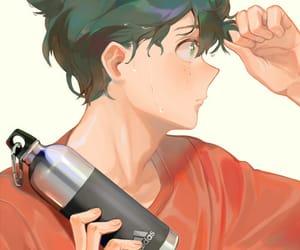 anime, boku no hero, and midorya image