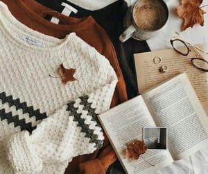 grafika autumn, fall, and book