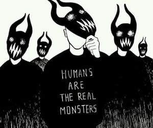 humans, monster, and life image