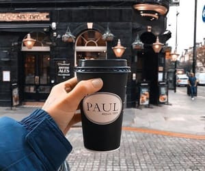coffee, city, and streetstyle image