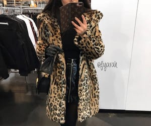 fashion style, brown leopard, and stylish closet image