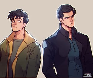 dick grayson, red hood, and jason todd image