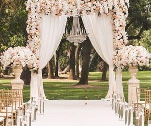 groom, wedding day, and bride image