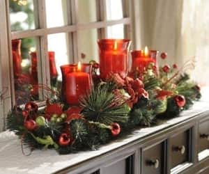 candles, hapiness, and red image