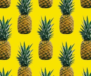 background, abacaxi, and pineapple image