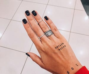 tattoo, accessories, and nails image