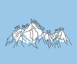 blue, mountains, and header image