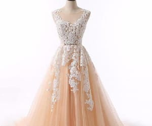white prom dresses, lace prom dresses, and prom dresses long image