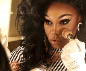 drag queen, makeup, and rpdr image