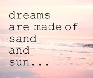 Dream, beach, and sand image