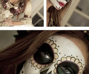 catrina, Halloween, and make up image