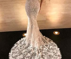 evening dress, prom dress, and bridal gowns image
