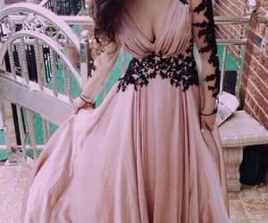 lace prom dress, evening dress a-line, and custom prom dress image