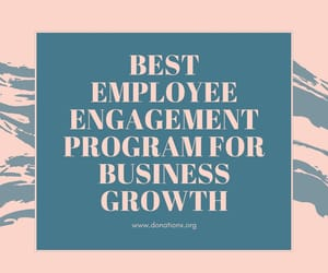 employee engagement, matching gifts, and employee giving image