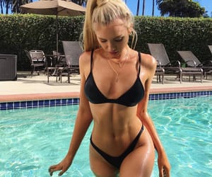 blonde, body, and summer image
