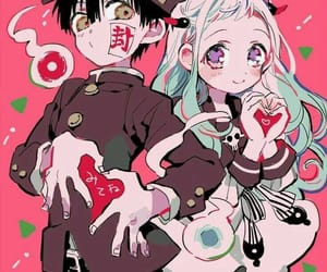 anime, beautiful, and black hair image