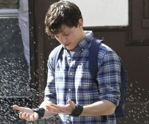 actors, peter parker, and spiderman: far from home image