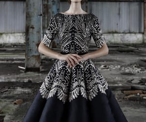 black, Couture, and dresses image