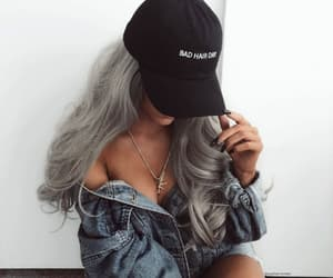 aesthetic, curls, and girl image