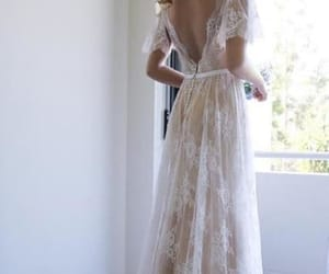 v-neck party dresses, lace wedding dresses, and ivory party dresses image