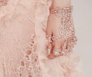 pink, Alexander McQueen, and dress image