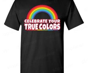 gay pride, gay pride shirt, and shirts image