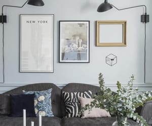 bedroom, interior, and decorating image