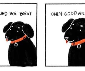 comic, dog, and cute image