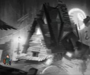 animation, mystical, and cartoon image