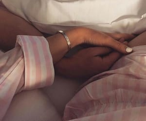 couples, holding hands, and relationship goals image