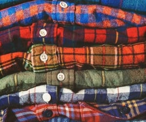 grafika clothes, colorful, and flannels