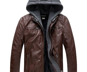 brown leather jackets and jacket with armor image