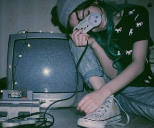 grunge, game, and aesthetic image