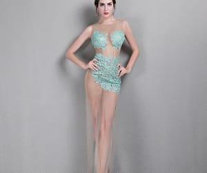 sexy dress, mermaid dress, and 2019 image