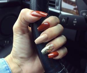 nail, nails, and rednail image