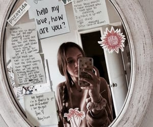 mirror, fashion, and girl image