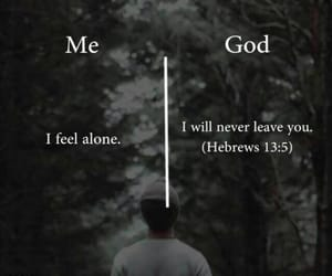 alone, bible, and faith image