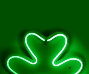 green light, neon, and light image