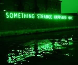 strange, grunge, and light image