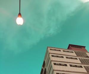 green, mood, and sky image