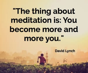 meditation, health, and quotes image
