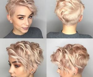 short hair and pixie cut image