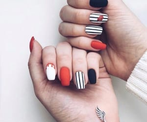nails, style, and cute image