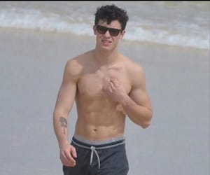 shawn mendes, beach, and shawn image